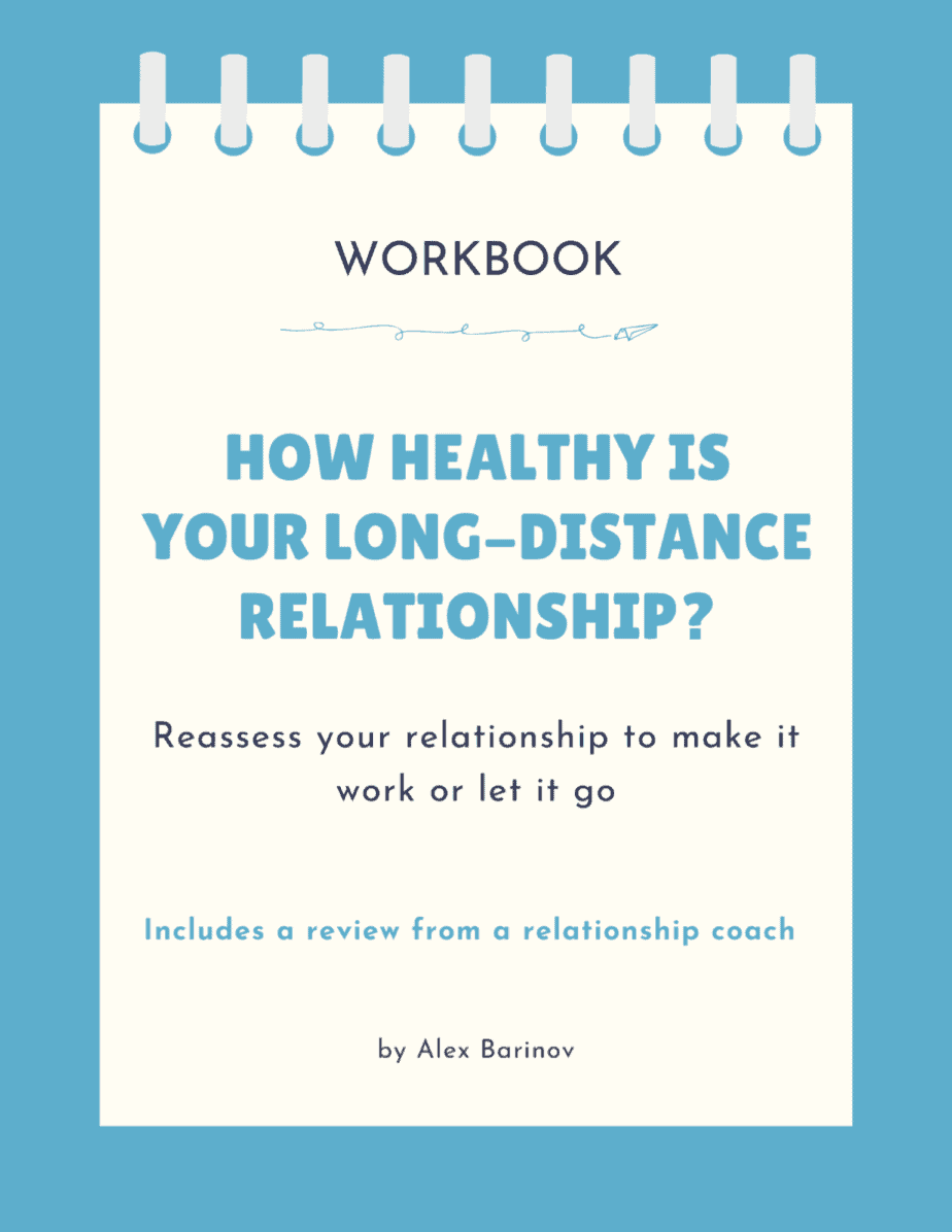 Workbook: How Healthy Is Your Long-Distance Relationship - Cover - with assessment