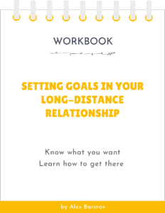 Setting Goals In Your Long-Distance Relationship