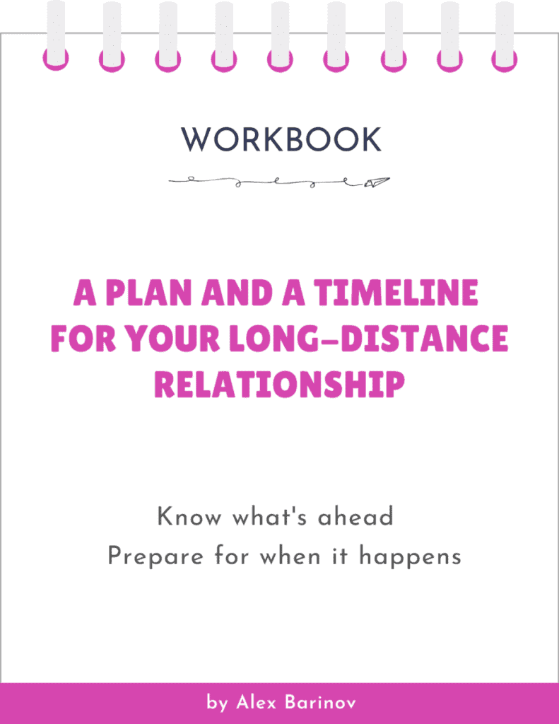 A Plan and A Timeline For Your Long-Distance Relationship