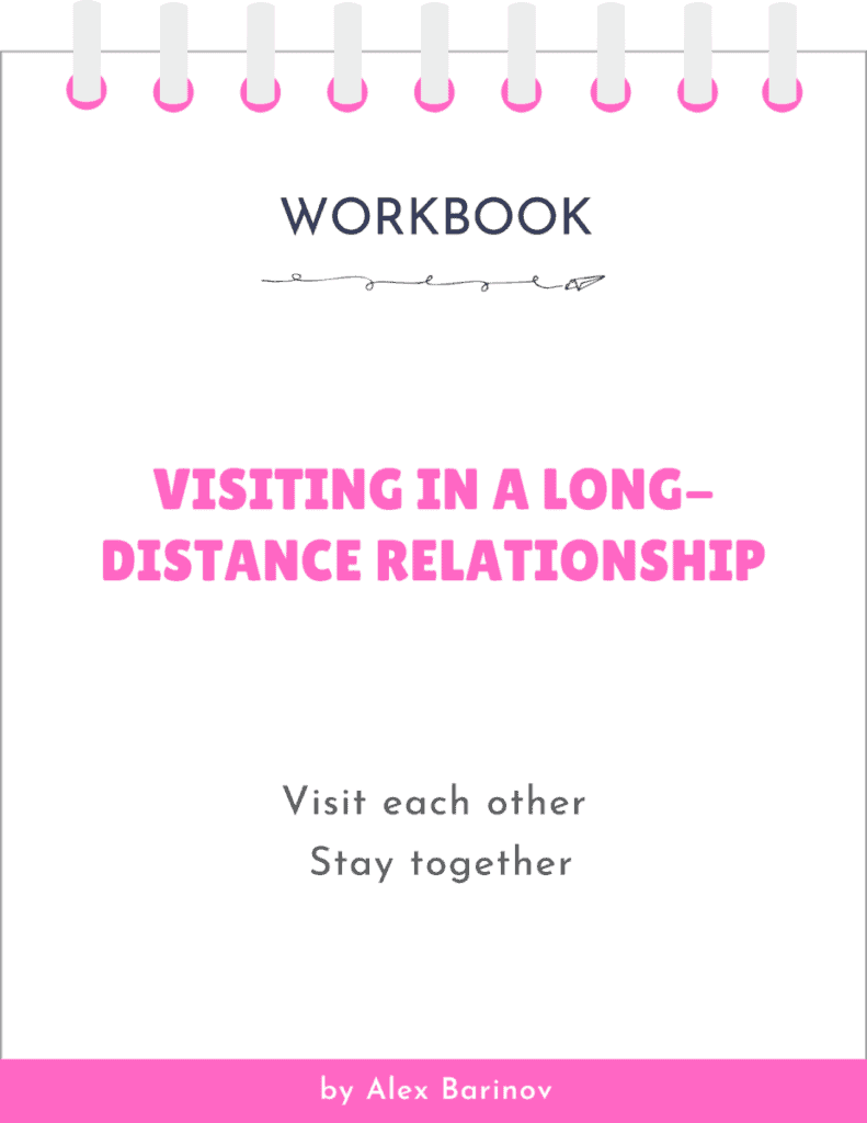 Visiting in a Long-Distance Relationship