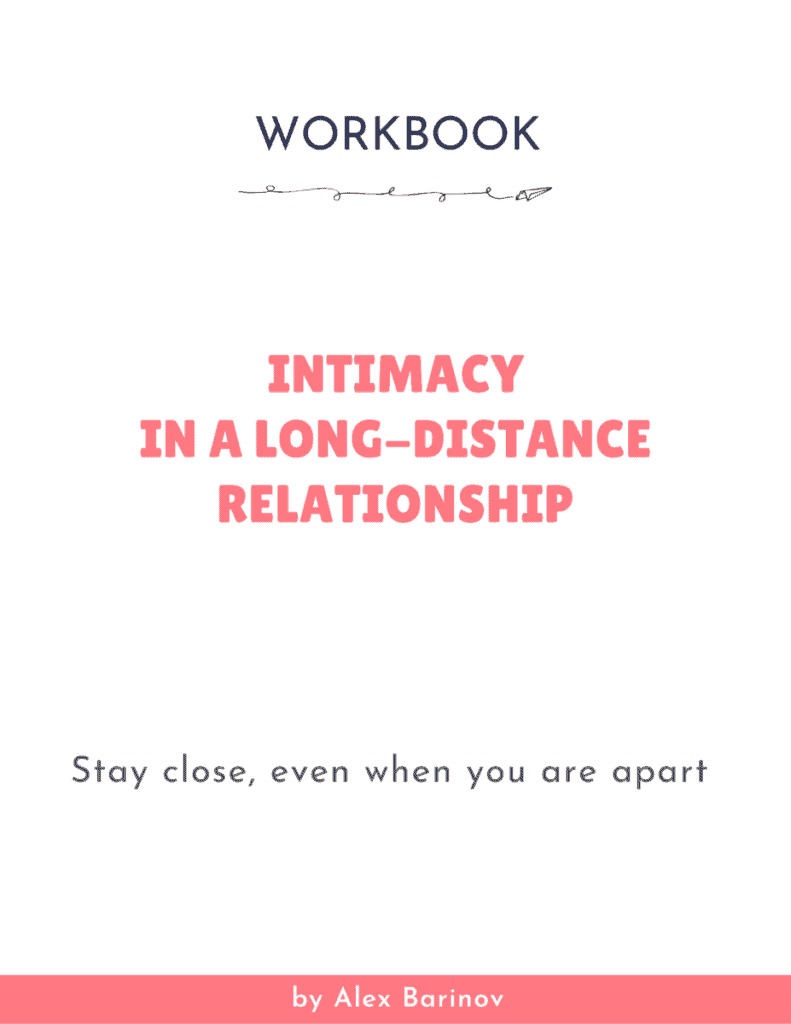 Intimacy in Your Long-Distance Relationship - Workbook