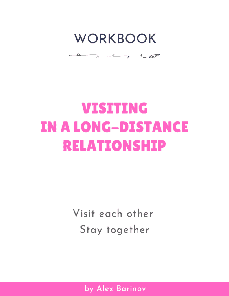 Visiting in a Long-Distance Relationship - Workbook